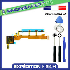 NAPPE POWER ON OFF + VOLUME + MICRO POUR SONY XPERIA Z