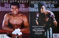 Muhammad Ali - The Greatest - TWO ISSUES Sports Illustrated - 10/5/15, 6/13/16