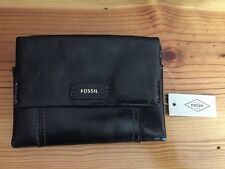 Fossil Ellis Multifunction Black leather Wallet-Nwts