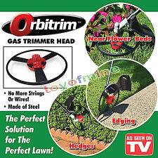 New Orbitrim Gas Trimmer Head No String As Seen On TV