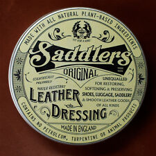 Saddlers Leather Balsam conditions & waterproofs sofas boots & bike leathers etc