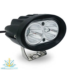 12V~24V 20W COMPACT BLACK FLOOD BOAT/FLYBRIDGE/FISHING LED SPOT WORK LIGHT