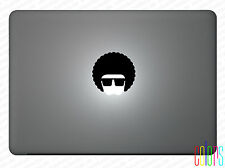 """Afro Afrob Cool Aufkleber für Apple Macbook Air 13"""" 15"""" Pro Sticker  Skin"""