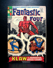 COMICS: Marvel: Fantastic Four #56 (1966), 1st Klaw cover - RARE (panther)