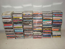LOT OF 240 CDs CLASSIC ROCK  COUNTRY JAZZ PERSONAL COLLECTION