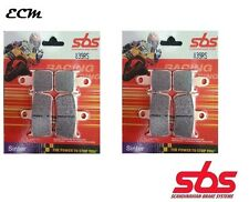 YAMAHA YZF 1000 R1 2009 Radial Caliper SBS 839RS RACING SINTER FRONT BRAKE PADS