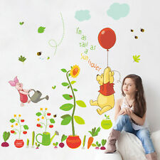 Winnie The Pooh Wall Stickers Nursery Boy Kids Baby Room Vinyl Art Decal Decor