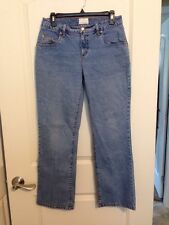 "FDJ French Dressing Jeans Petite Light Wash Jeans Size 8P ""dusty flare"""