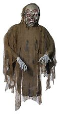 """46"""" Prop Hanging Undead Scary Horror Brown Zombie Halloween Decoration Decor NEW"""