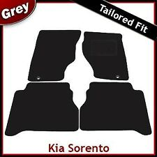 Kia Sorento (2003 2004 ... 2007 2008 2009) Tailored Fitted Carpet Car Mats GREY