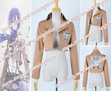 Shingeki no Kyojin Attack on Titan Training Corps Cosplay Costume Eren Jacket