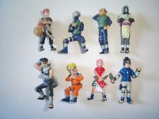 NARUTO FIGURINES SET ANIME & MANGA ZAINI - FIGURES COLLECTIBLES MINIATURES