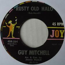GUY MITCHELL ~ RUSTY OLD HALO ~ ROCKABILLY bopper 45 ~ NICE