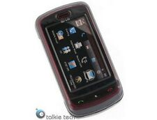 Solid Plastic Phone Cover Protector Transparent Smoke For LG Xenon GR500