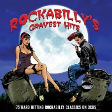Rockabilly's Gravest Hits VARIOUS ARTISTS Best Of 75 Songs MUSIC New Sealed 3 CD
