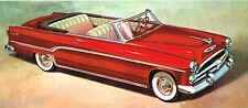 1954 DODGE Dealer Auto Sales Brochure: ROYAL V8,CORONET,V-8