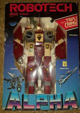 Alpha Fighter Robotech Mospeada Gakken Excite Legioss Boxed 1984 Rook Bartley