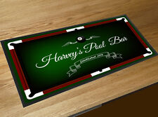 Personalised with your name Pool table Bar runner Pubs & Clubs