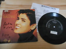 "7"" POP Tanita Tikaram-only the ones we love (2) canzone WEA WARNER + presskit"