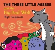 NEW sparkly THREE LITTLE MISSES and BIG BAD WOLF (BUY 5 GET 1 FREE  Mr Men Miss