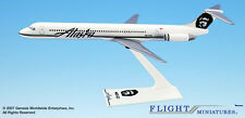 Alaska Airlines MD-83 1:200 FlugzeugModell MD80 Flight Miniatures AMD-08000H-016