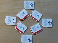 US Cellular Micro Sim cards for iPhone 4S, Samsung Galasy S5, S4, Note 4, Note 3