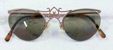 Vintage: Romeo Gigli 1980s Tiara Bridge Crown Frame Sunglasses