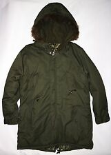 RELCO MENS FISHTAIL PARKA IN GREEN SIZE M