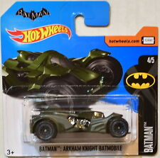 HOT WHEELS 2017 BATMAN : ARKHAM KNIGHT BATMOBILE #4/5 SHORT CARD