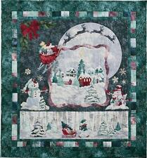 Magic in the Moonlight McKenna Ryan Pine Needles 6 Christmas Quilt Pattern Set