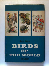 Vtg Book Birds of The World In Color 1000+ Illustrations 1964 Ed    Hans Hvass