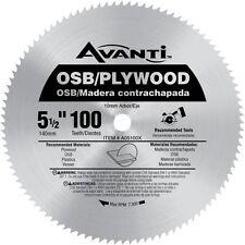 Avanti 5-1/2 in. x 100-Tooth OSB/Plywood Saw Blade