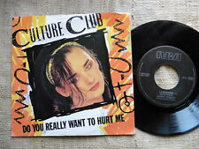 Culture Club ‎– Do You Really Want To Hurt Me Label: Virgin ‎– - Vinyl, 45 giri