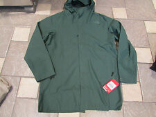 NEW THE NORTH FACE EL MISTI TRENCH COAT JACKET PARKA WATERPROOF MENS XL GREEN