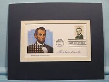 President Abraham Lincoln honored by First day Cover of his stamp