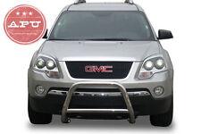 """07-15 GMC Acadia 2.5"""" Stainless Steel Bull Bar + 3"""" LED Off Road Fog Lights"""
