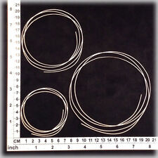 Chipboard Embellishments for Scrapbooking, Cardmaking -String Circles 15114w