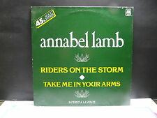 "MAXI 12"" ANNABEL LAMB Riders on the storm ( DOORS ) SDC 11023 PROMO"