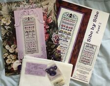 Just Nan /Charland Designs Side by Side Counted Cross Stitch Sampler Kit
