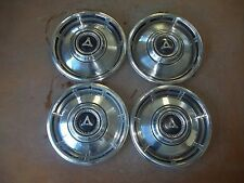 "1967 67 1968 68 Dodge Dart Hubcap Rim Wheel Cover Hub Cap 13"" OEM USED 312 SET 4"
