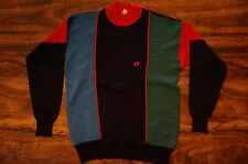 Vtg HANG TEN 10 SURF SKATE SHOULDER/NECK ZIP SHIRT SWEATER M/S
