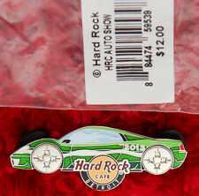 Hard Rock Cafe Pin DETROIT Auto CAR SHOW Green LAMBORGHINI rim diabllo lapel hat
