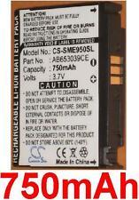 Batterie 750mAh type AB653039CE AB653039CEC Pour Samsung GT-S3310