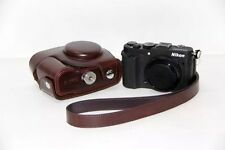 Ever Ready Camera PU Leather Bag Case Cover For Nikon Coolpix P7700 P7800