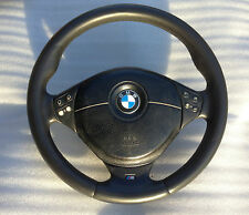 BMW E38 E39 E46 E53 Sport M Tech steering wheel dual stage airbag (after 1999)