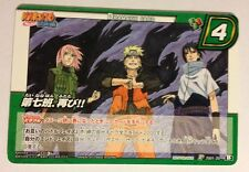 Naruto Miracle Battle Carddass Promo JS01-20