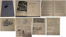 Odhams Motor Manual 4th edition 1958 Classic Car Repair & Maintenance