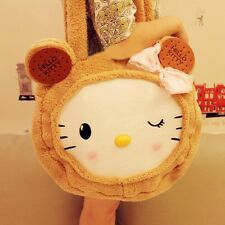 Cute Cookies HelloKitty Cat Plush Shoulder Bag Lolita Girls Handbag 45x45cm 1pcs