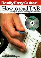 Really Easy Guitar! How To Read TAB Music Book/CD