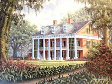 Southern Heritage IV by Steve Bourgeois Shadows On The Teche Plantation (S/N)